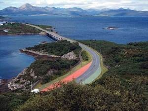Ske-Bridge-and-Isle-of-Skye-from-Plock-of-Kyle-viewpoint