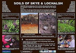 Soils (in a single poster - see Highland Soils 1-4)